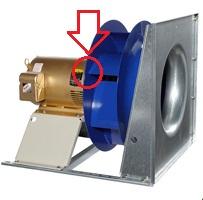 Air Handling Unit More Efficient Direct Drive Plenum Fan