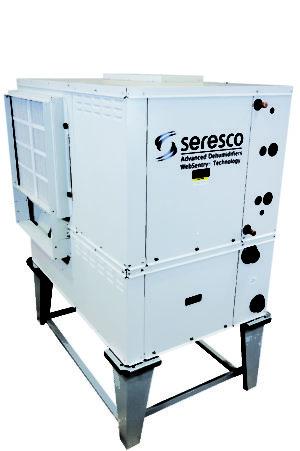 Indoor pool dehumidifier with no outdoor condenser for Indoor pool dehumidification design