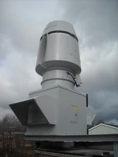 Strobic Air Tri-Stack Fan - Odor Control