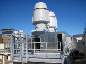 UNH Parsons - Heat Recovery Plenum
