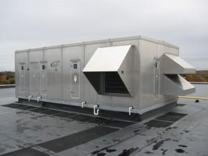 Fresh Air Pool Dehumidification Unit - Leggs Hill YMCA
