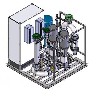 Konvekta Pumping Skid - 3D